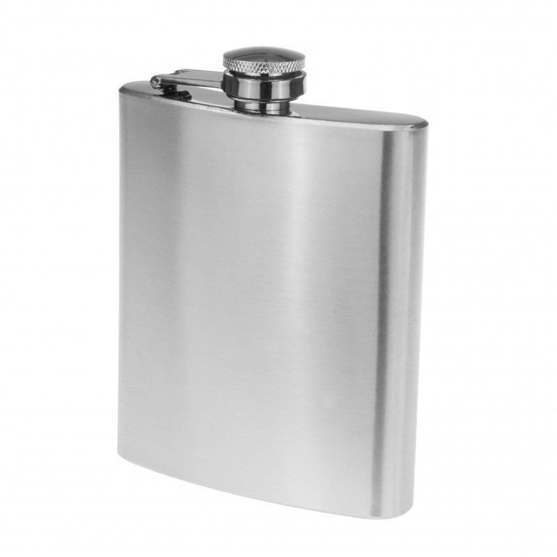 Metalen zakflacon 200 ml