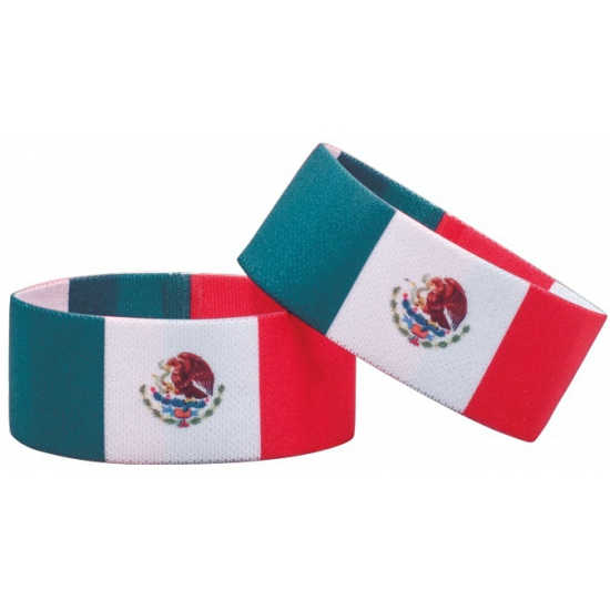 Mexico fan armbandje