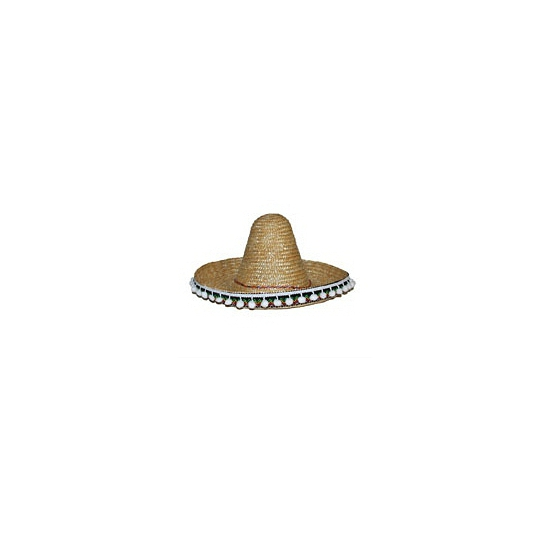 Mexico sombrero naturel 30 cm
