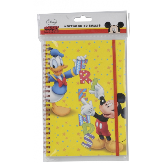 Mickey en Donald notitieboekje