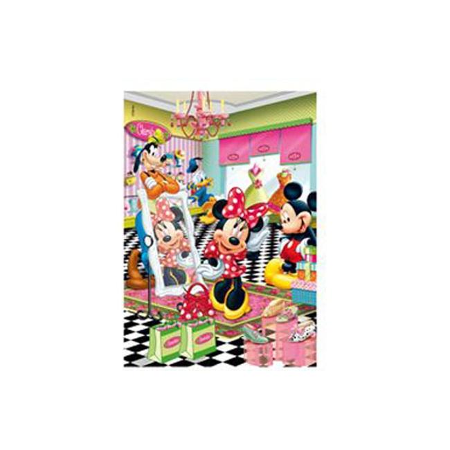 Mickey en Minnie Mouse winkelen 260 stukjes