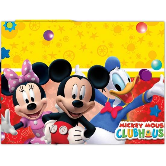 Mickey Mouse feestartikelen tafelkleed 120 x 180 cm