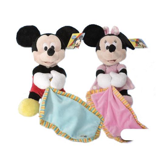 Mickey Mouse knuffeldoek 25 cm