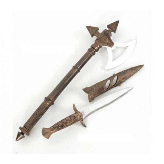 Middeleeuwse wapen set 2 x