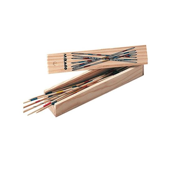 Mikado spel 18 cm hout