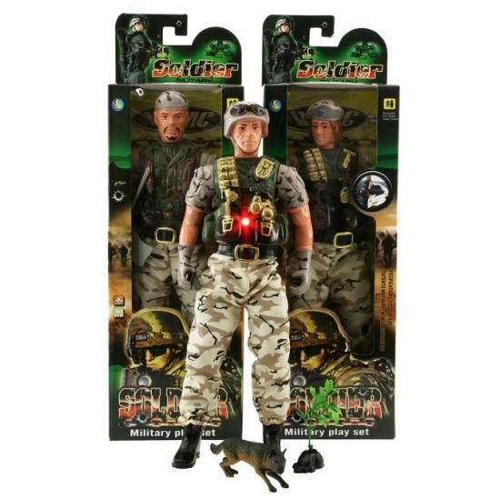 Militair speelsetje voor kinderen