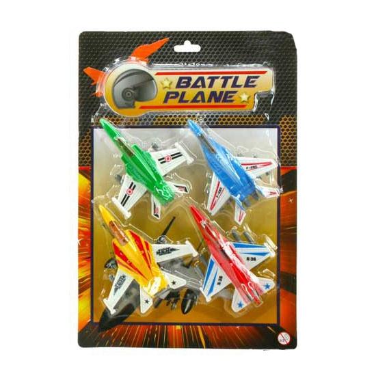 Militaire vliegtuigjes setje 2