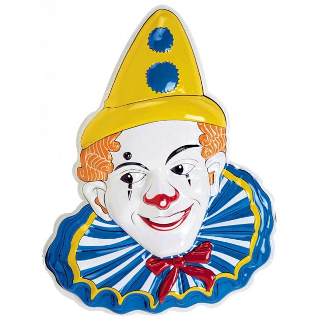Mime clown decoratie 65 cm