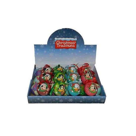 Minnie Mouse kerstbal van kunststof