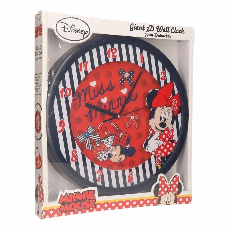 Minnie Mouse klok 3D