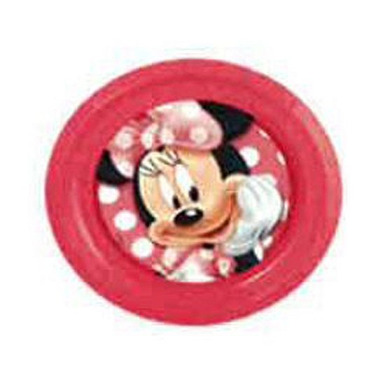 Minnie Mouse thema bordje 21 cm