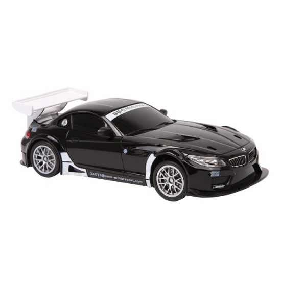 Model raceauto BMW Z4 GT3 zwart