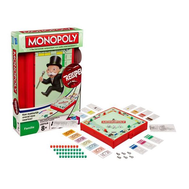 Monopoly reis spel