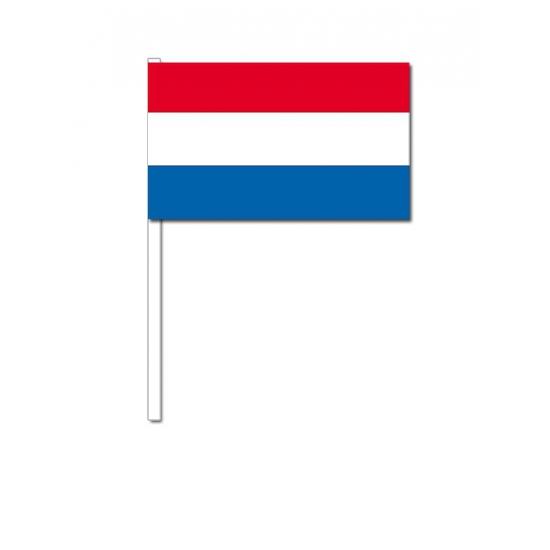 Nederland zwaai vlaggetjes 12 x 24 cm