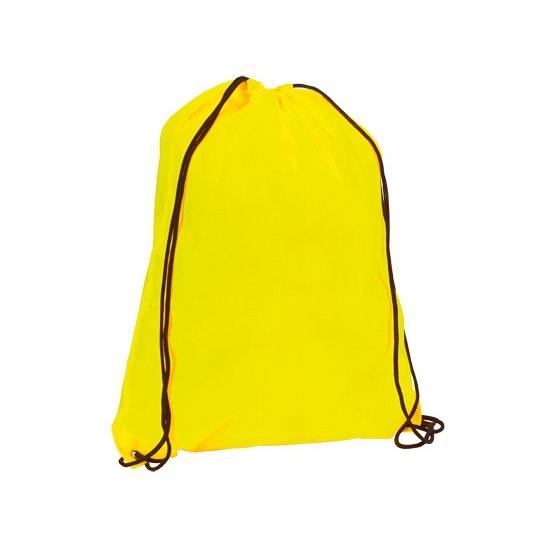 Neon gele rugtas