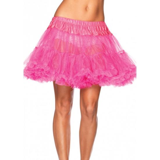 Neon roze luxe petticoat