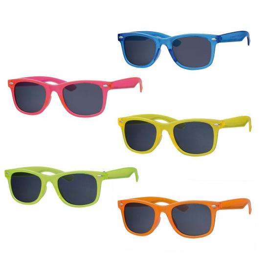 Neon zonnebrillen voor kids