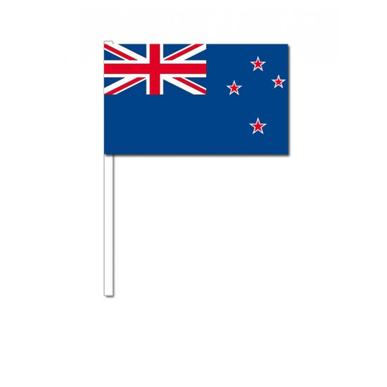 Nieuw Zeeland zwaai vlaggetjes 12 x 24 cm