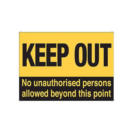 Nostalgisch bord Keep Out