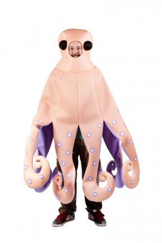 Octopus zeedier kostuum
