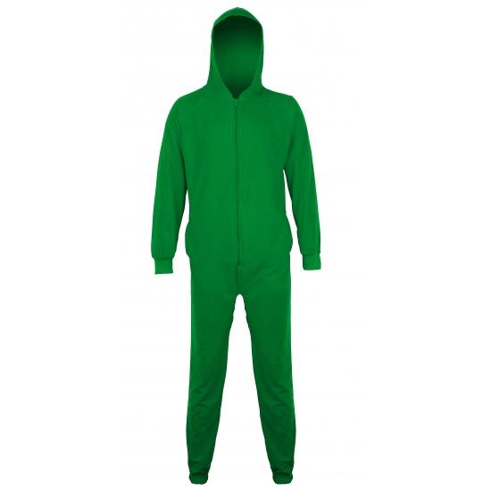 Onesie groen voor mannen