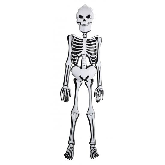 Opblaasbaar decoratie skelet 150 cm