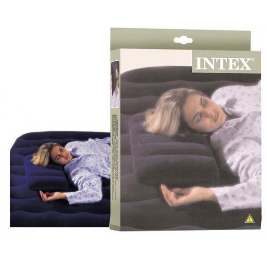 Opblaasbaar reis hoofdkussen Intex