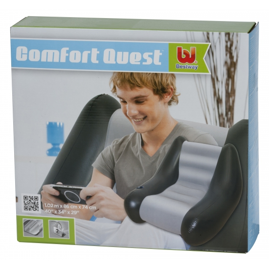 Opblaasbare strandstoel 102cm