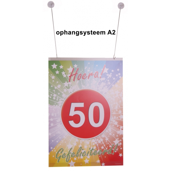 Ophang materiaal A2 poster