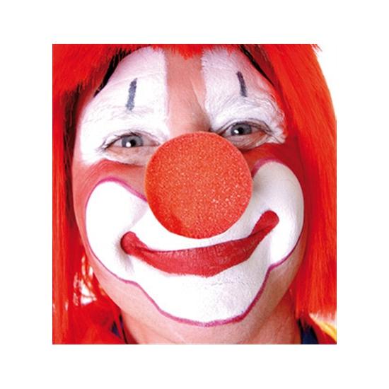 Opzet clownsneuzen rood
