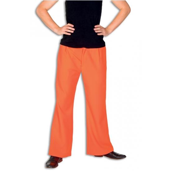 Oranje broek voor heren
