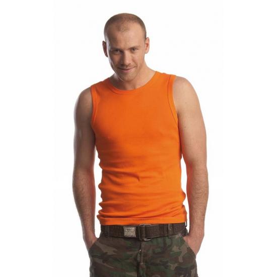 Oranje heren hemdje