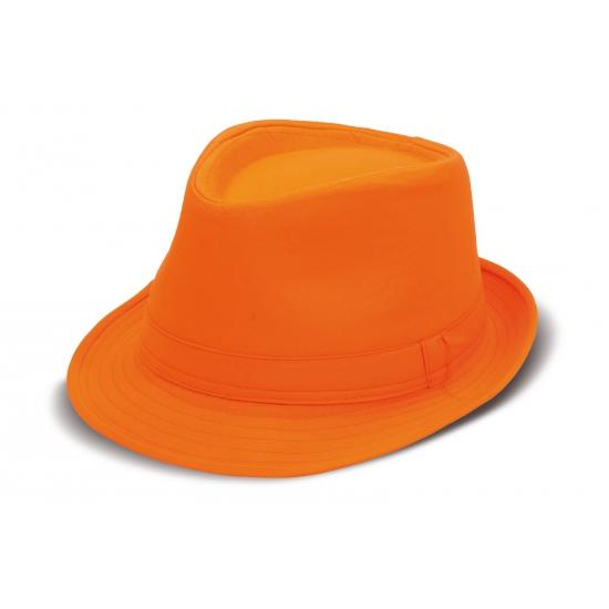 Oranje hoed voor volwassenen