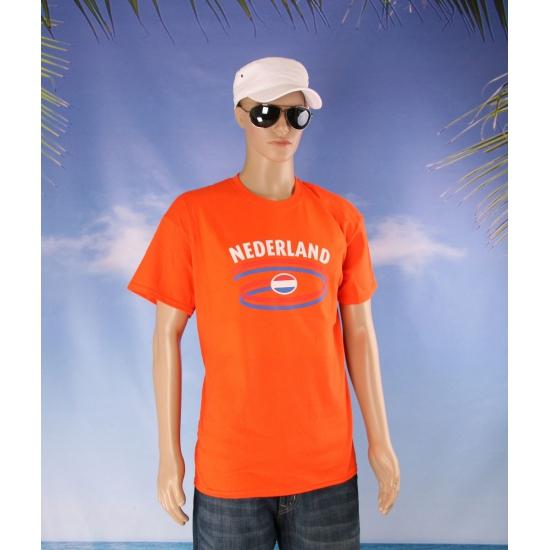Oranje Nederland t shirt unisex