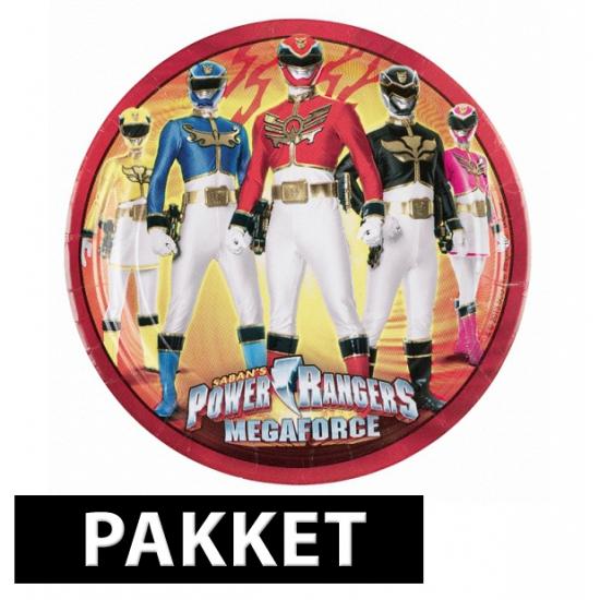 Pakket voor Power Rangers feestje