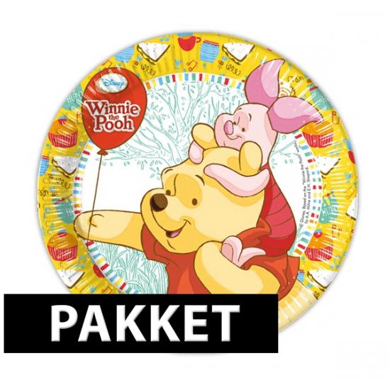 Pakket voor Winnie de Poeh feestje