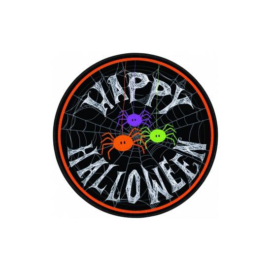 Papieren Halloween bordjes 10 stuks