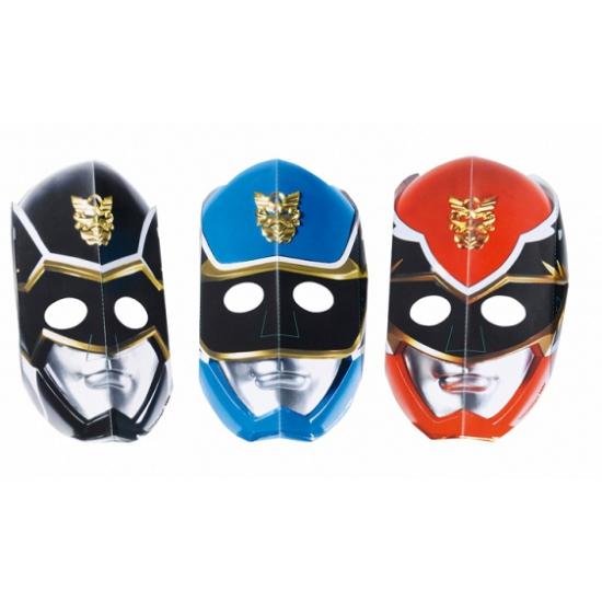 Papieren maskers Power Rangers