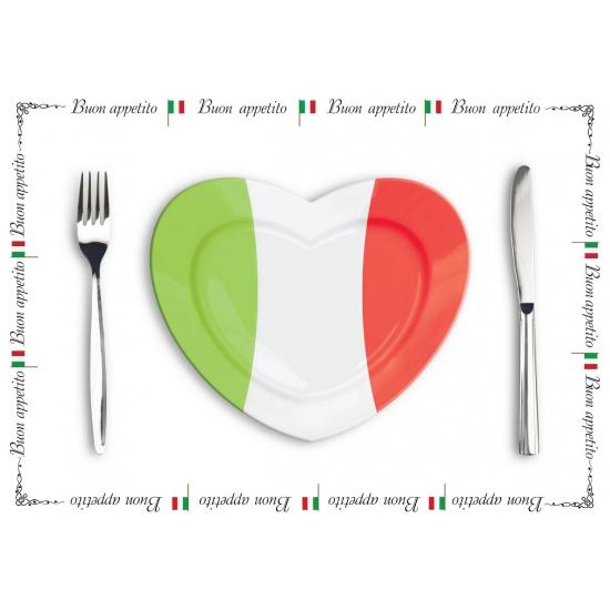 Papieren placemats Italie 10 x
