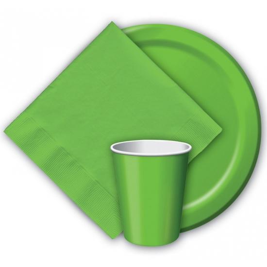Party bekers groen 8 stuks