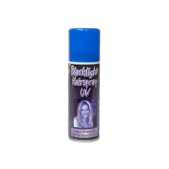 Party blacklight haarspray