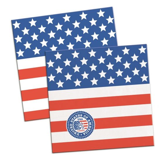 Party servetten USA 20x