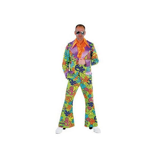 Peace Disco verkleedkleding heren
