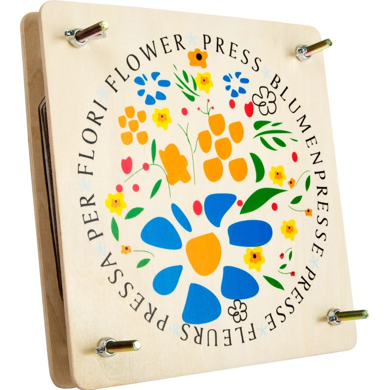 Pers voor bladeren en bloemen