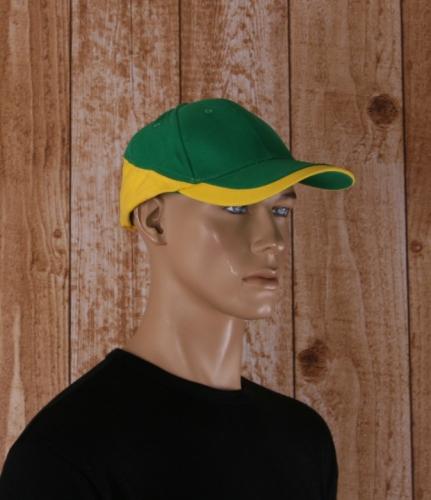 Pet groen en geel