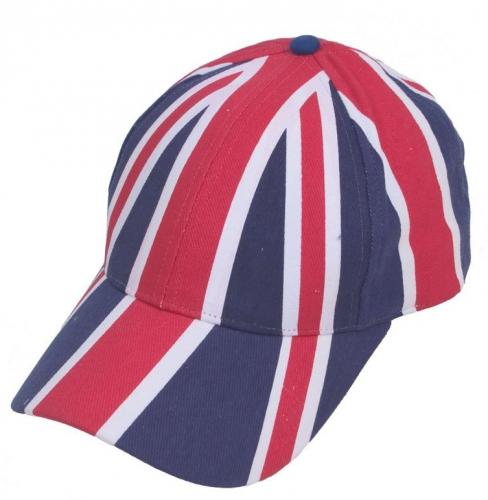 Pet met de Engelse vlag
