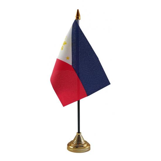 Philipijnen vlaggetje voor op tafel