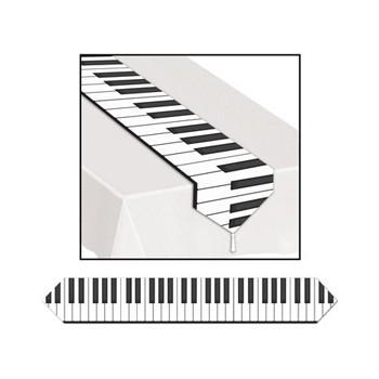 Piano tafelloper plastic