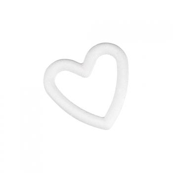 Piepschuim open hart figuur 20 cm