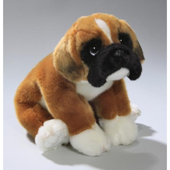 178b14fe9dd8c6 Pluche Boxer hond knuffel 28 cm